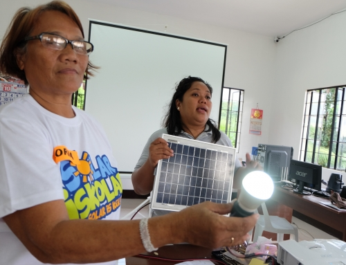 Women take the lead in lighting up communities with solar lamps