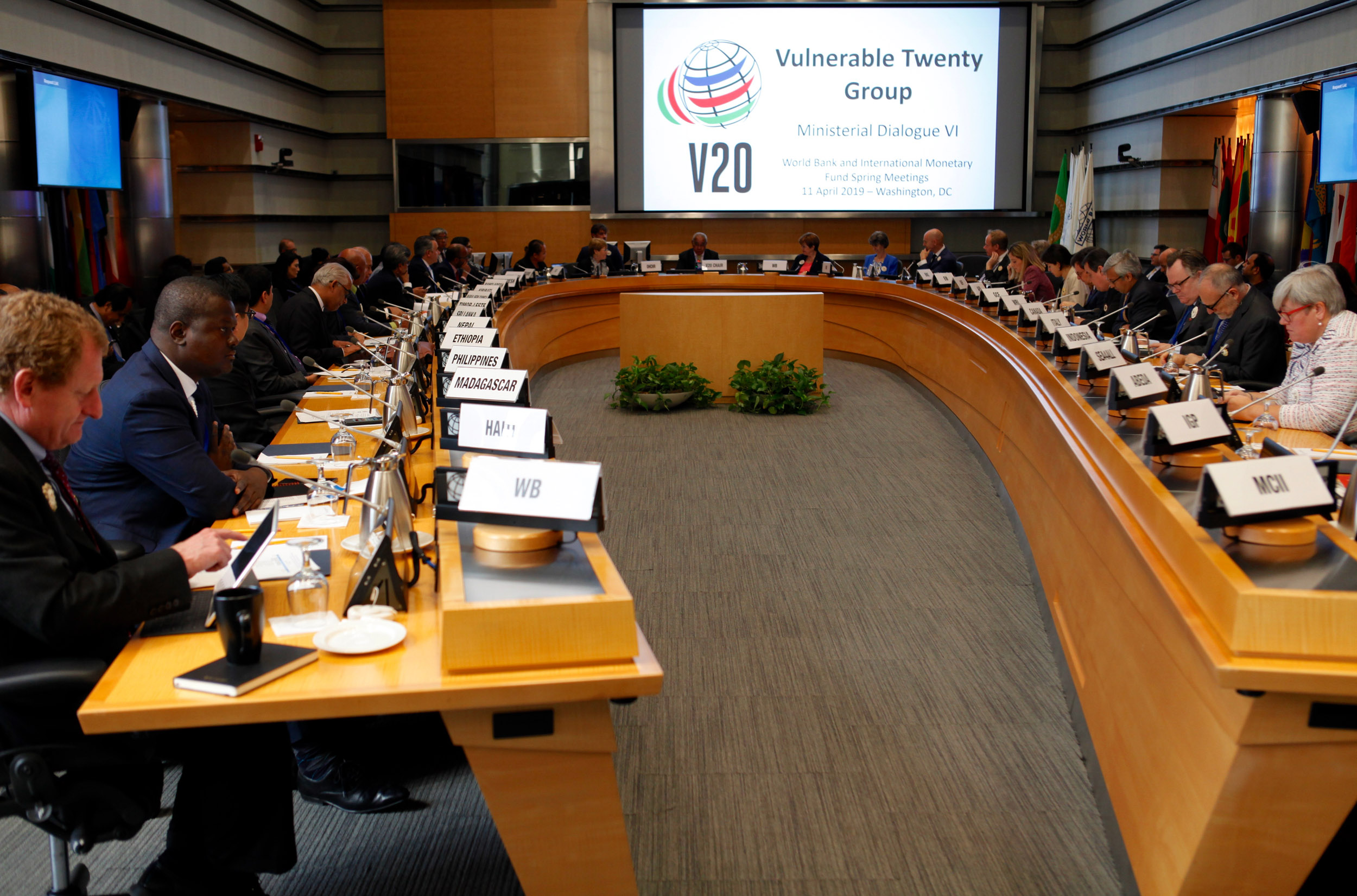 Vulnerable countries and international partners announce