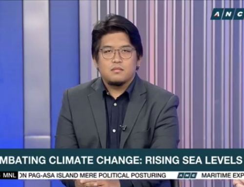 Kairos Dela Cruz on ANC: Sea level rise and climate action
