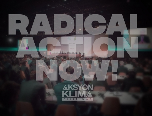 """Radical action"" on climate needed both in UN talks, PH – civil society groups"