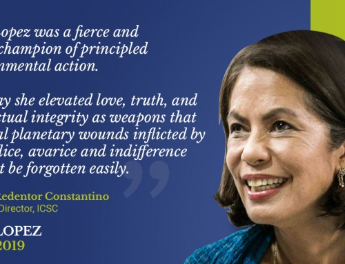 In memoriam: ICSC statement on Gina Lopez's passing