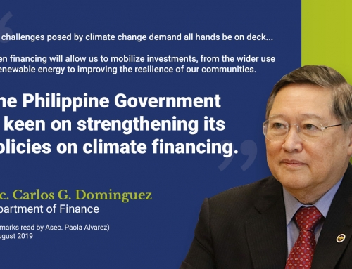 DOF Sec. Dominguez underscores need for climate-smart insurance in vulnerable economies