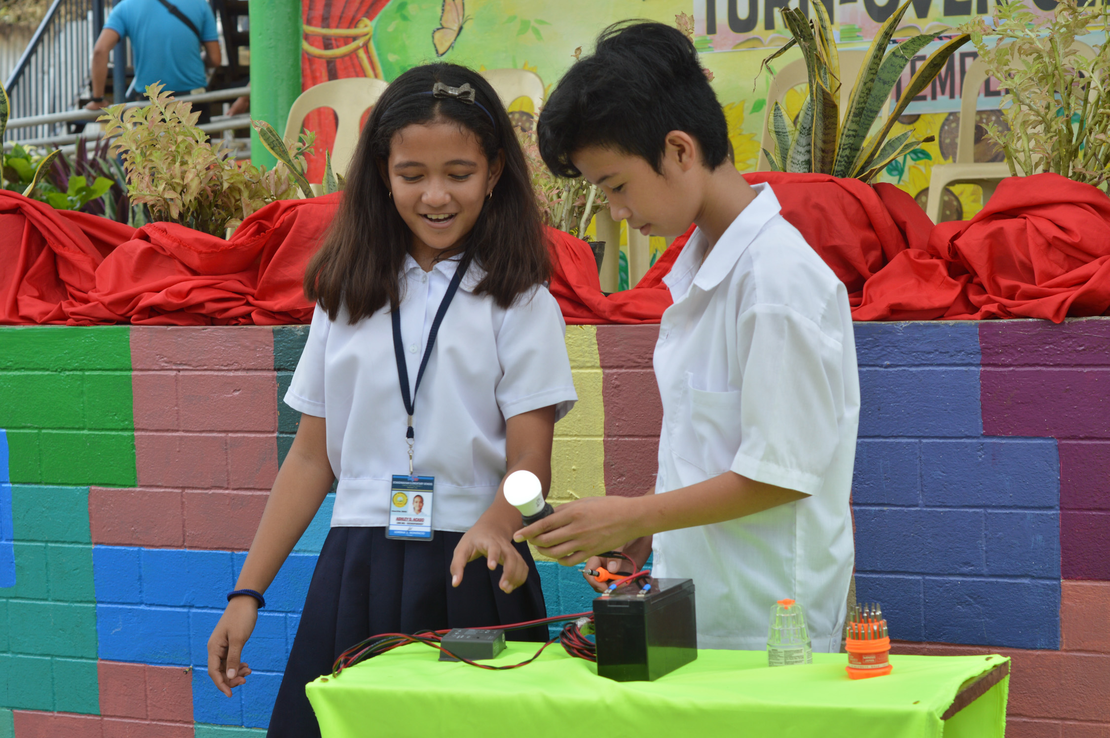 Renewable energy BRIGHT Project installed in northern Tacloban school