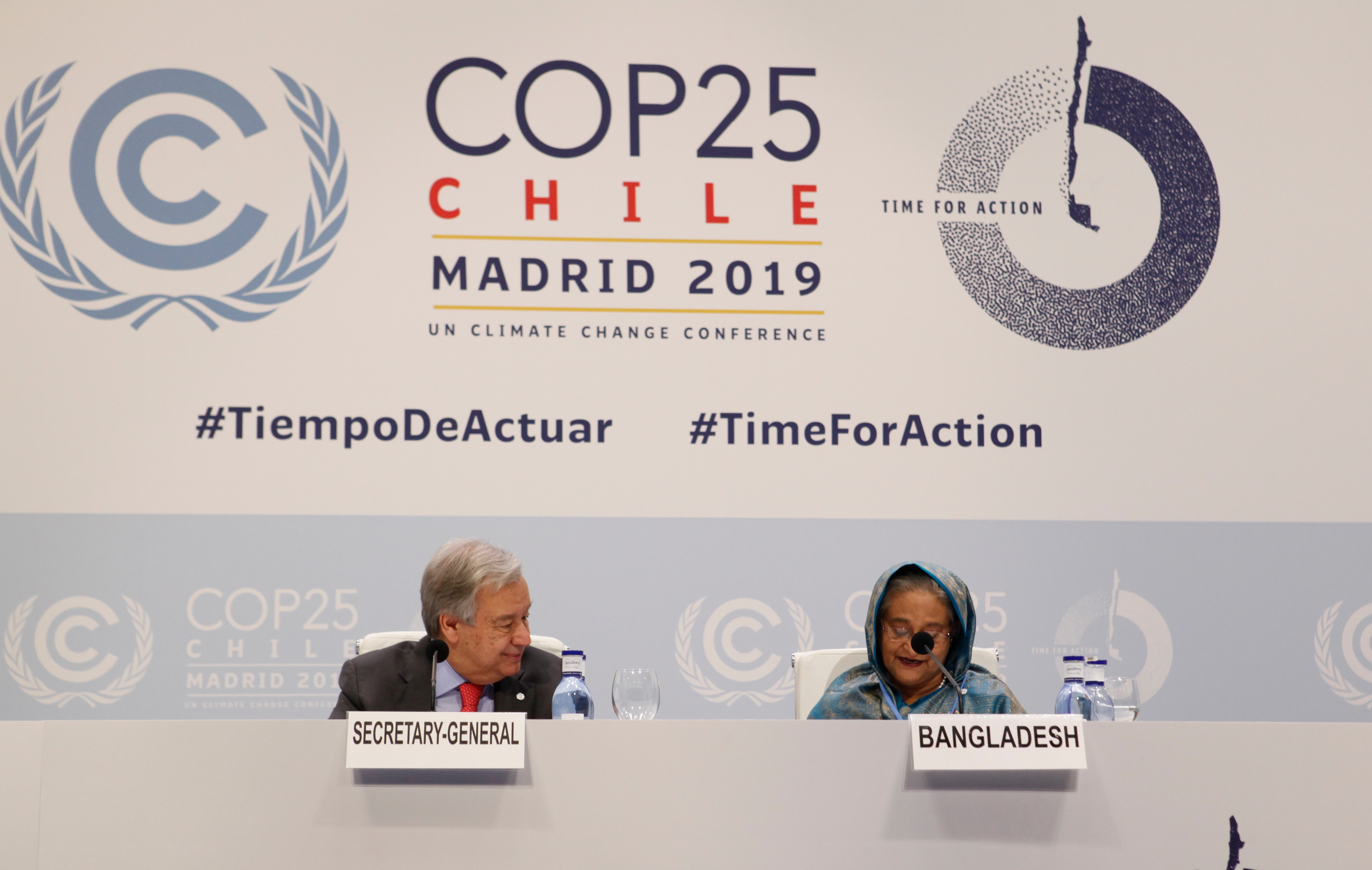 Vulnerable Leaders Call: COP25 must secure 2020 action for survival of nations