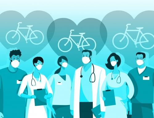 Bike sharing and donation drives