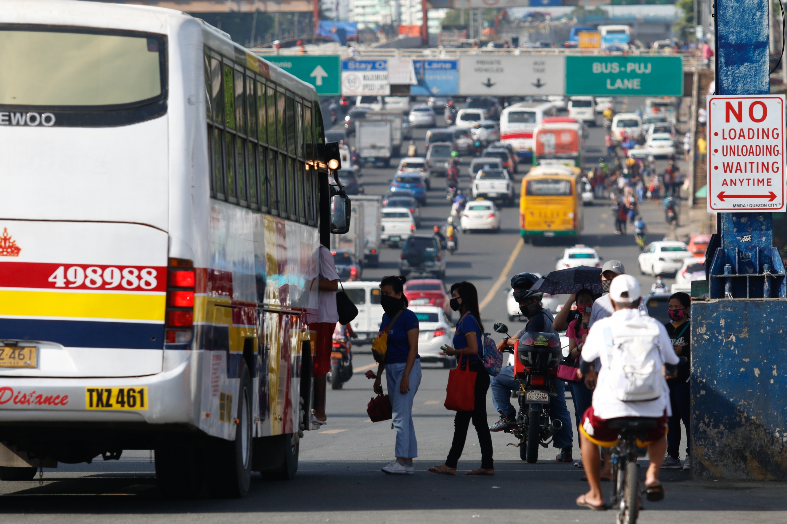 Mobility, a feature of democracy? But 88% of Metro Manila is at the losing end
