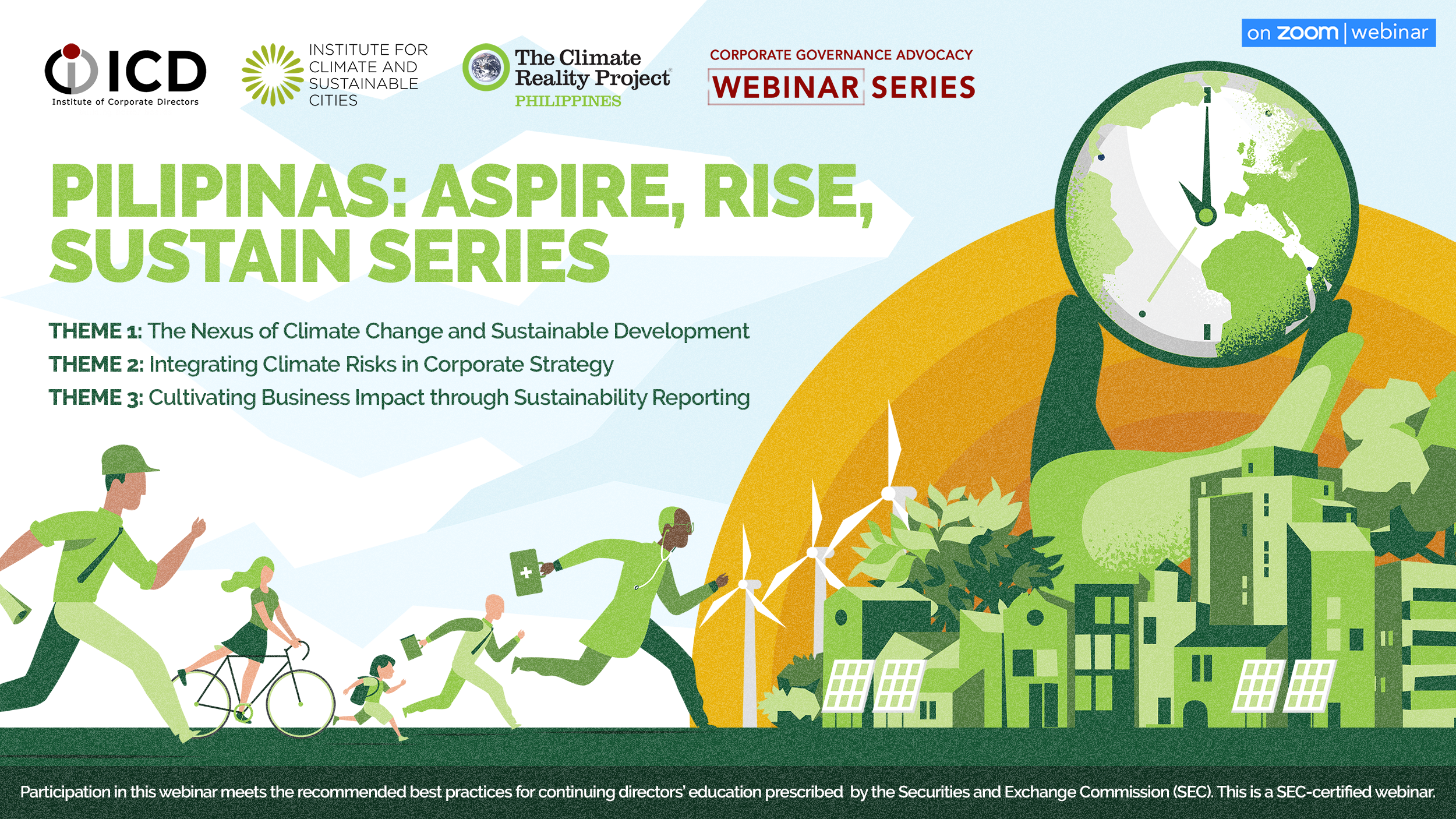 Private sector pushes for sustainability: ICD to hold webinars with ICSC, Climate Reality PH