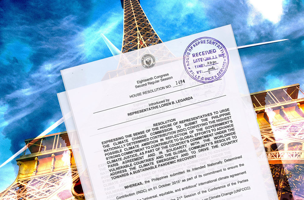 ICSC hails Legarda resolution for ambitious PH climate target