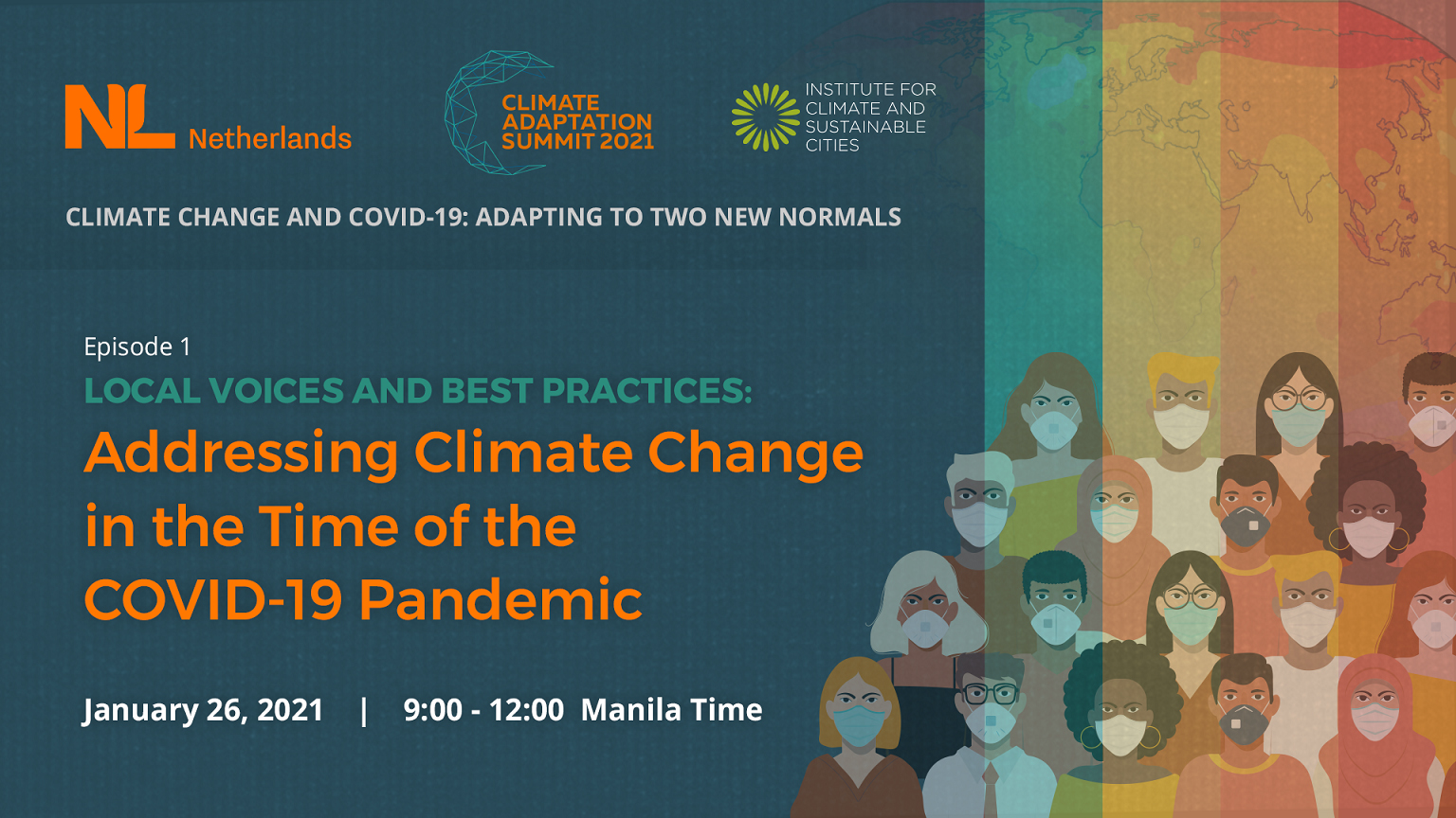 Local gov'ts tackle climate, COVID crises for int'l climate adaptation summit