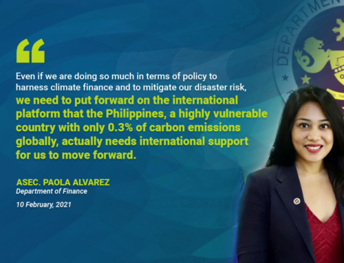DOF pushes for mainstreaming sustainable finance in the Philippines
