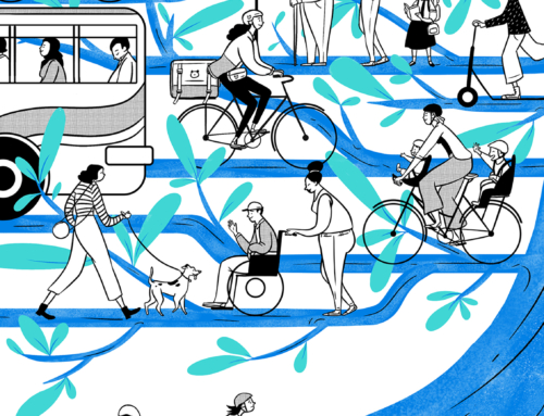 Commuters, pedestrians, and cyclists; Leading the way to a better normal
