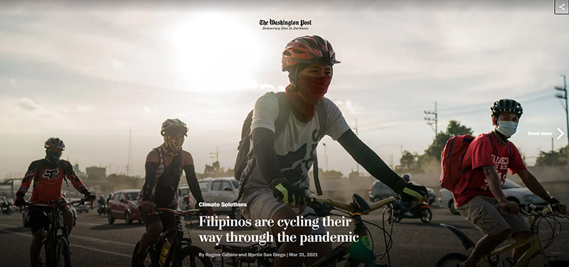 Filipinos are cycling their way through the pandemic – The Washington Post