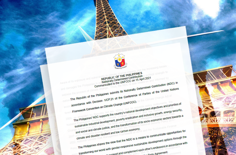 (UPDATED) PH submits 1st Paris climate plan to UN