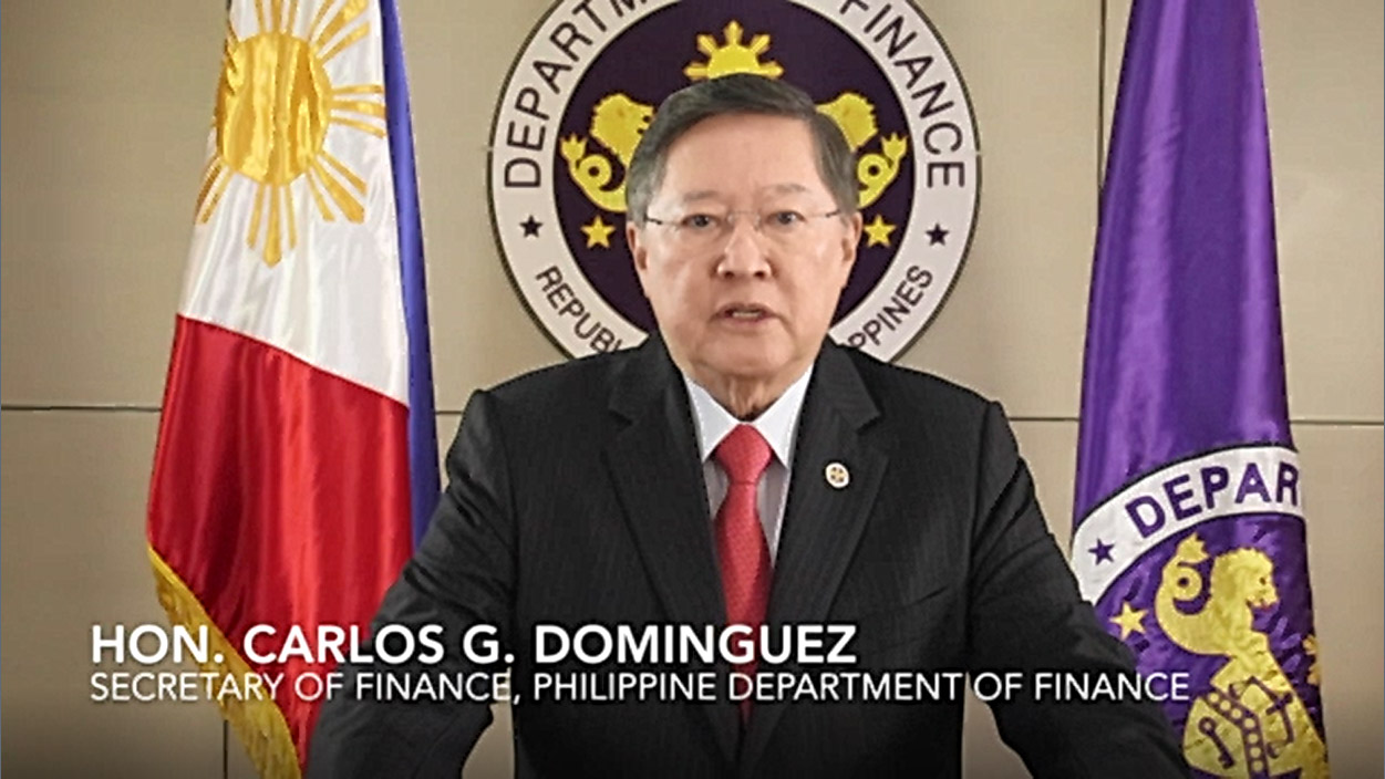 Dominguez calls for more climate, disaster risk financing with other vulnerable countries