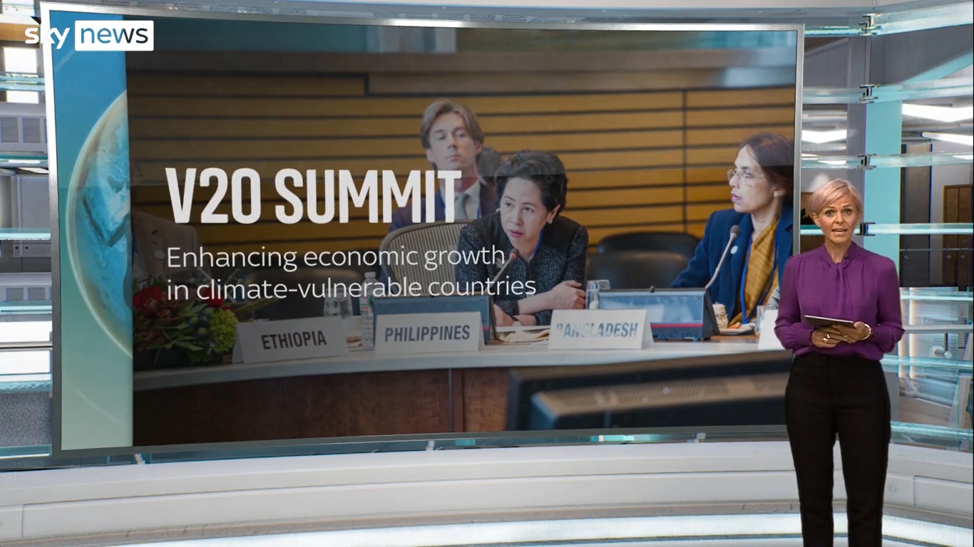 V20 Summit: Enhancing economic growth in climate vulnerable countries