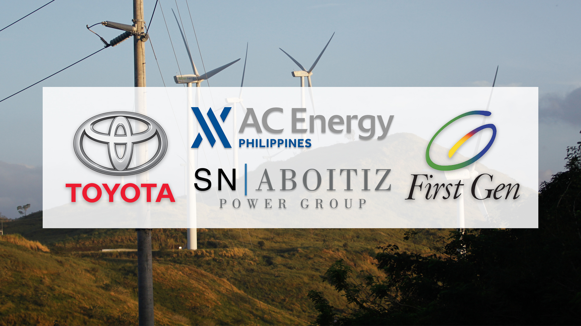 Toyota, leading PH companies call gov't to speed up energy transition